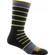 Darn Tough Vermont Via Ferrata Full Cushion Boot Sock - Men's Charcoal Medium