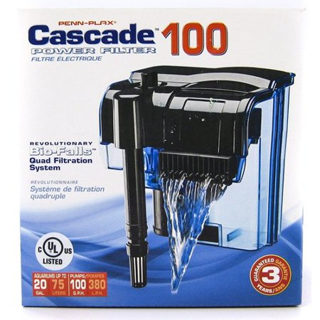 Cascade power filter for aquariums cascade power 100 100 for 100 gallon pond filter