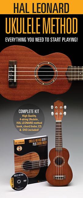 Hal Leonard Ukulele Starter Pack : Includes a Ukulele, Method Book with Online Audio, and... by Hal Leonard Publishing Corporation