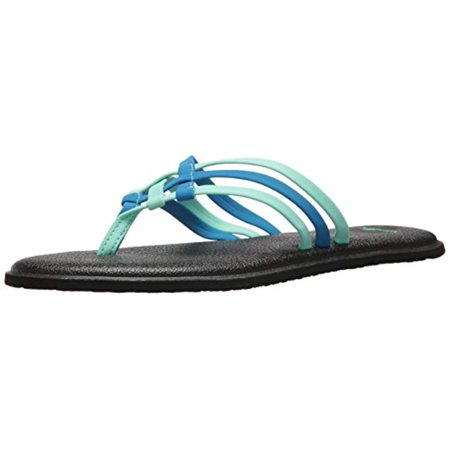 Sanuk Yoga Salty - Women's Stretch Yoga Mat Sandals - Opal / Indigo - Sanuk Yoga Mat