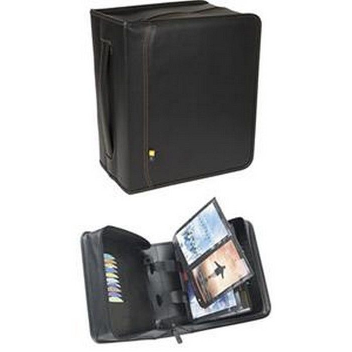 Case Logic Dvb-200 Dvds Album Koskin With Faux Leather Ca...