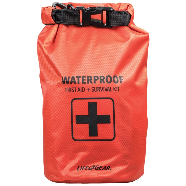 Click here to buy 130-Piece Dry Bag First Aid & Survival Kit.