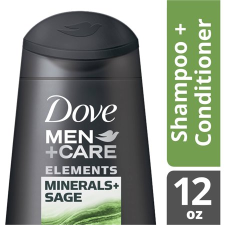 Dove Men+Care Minerals plus Sage Fortifying Shampoo and Cond