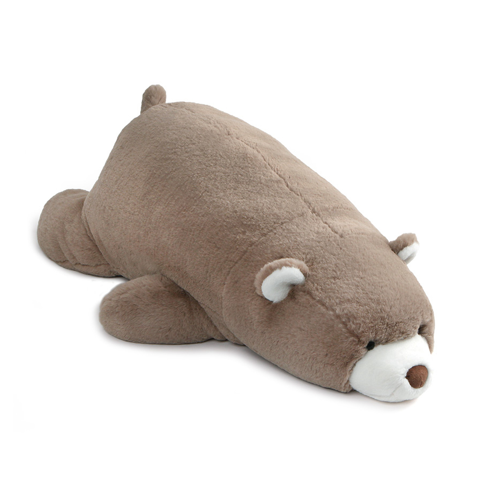Gund Large Laying Down Snuffles Teddy Bear Plush Stuffed Animal 27� Toy, Taupe by GUND