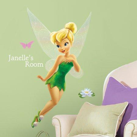 Disney Tinkerbell Bedroom - York Wallcoverings Disney Tinkerbell Wall Decals