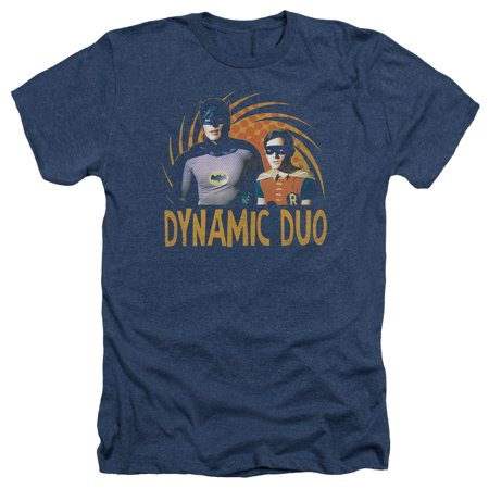 Dynamic Sleeve - Batman Classic Tv - Dynamic - Heather Short Sleeve Shirt - Large