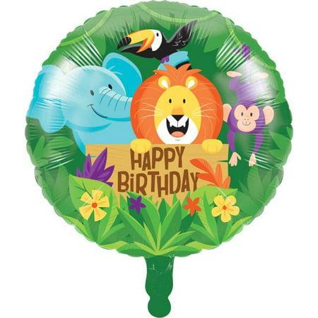 Creative Converting Jungle Safari Metallic Balloon 18