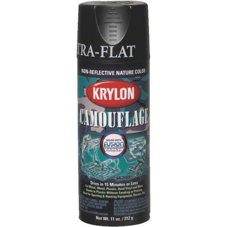Krylon 4290 Krylon Camouflage Paint with Fusion for Plastic Technology