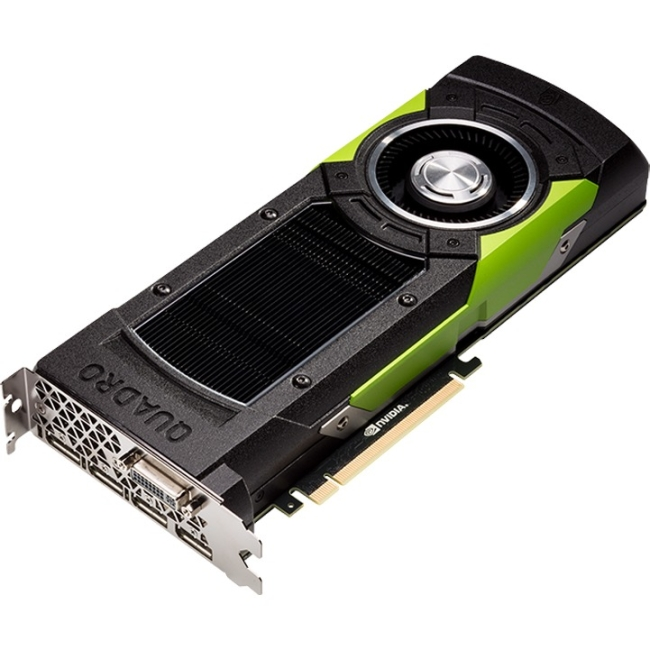 PNY Quadro M6000 Graphic Card 24 GB GDDR5 Dual Slot Space (Refurbished) by NVIDIA