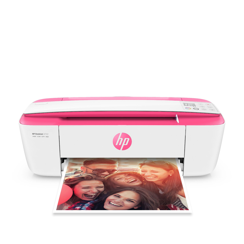 HP Deskjet 3722 All In One Printer Blue