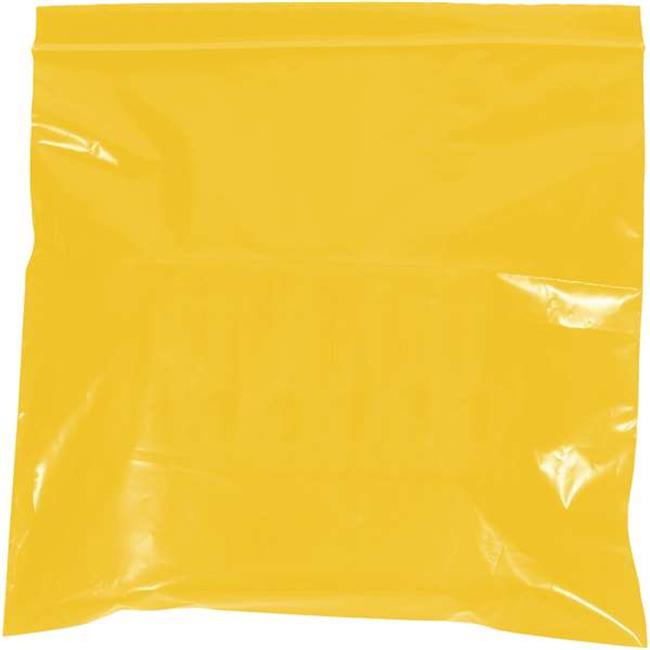 Box Partners PB3525Y 2 x 3 in. 2 Mil Yellow Reclosable Poly Bags - Pack of 1000 - image 1 de 1