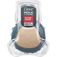 2 Pack - Dove Men + Care Dual Sided Shower Tool, Active Clean 1 ea