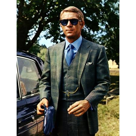 The Thomas Crown Affair Steve Mcqueen 1968 Photo (Steve Mcqueen Thomas Crown)