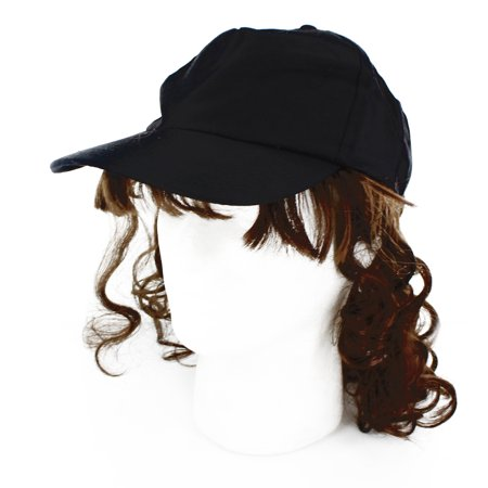 Billy Ray Mullet Costume Hat With Brown - Rap Costume