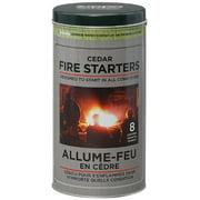 Cedar Pucks Campfire Starter - Pack of 8