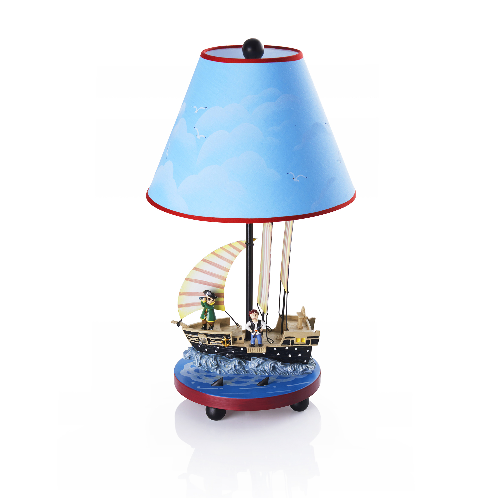 Pirate Table Lamp by Guidecraft