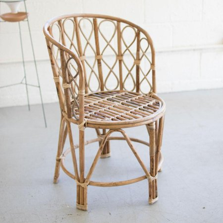 GwG Outlet Barrel Shaped Bamboo Chair NKE1177 ()