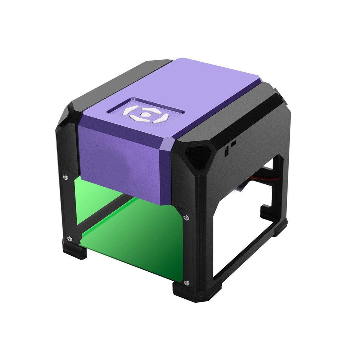 DIY Desktop Laser Engraving Machine Marking Engraver Cutter Printer 3000mW/2000mW/1500mW  Black/golden/purple
