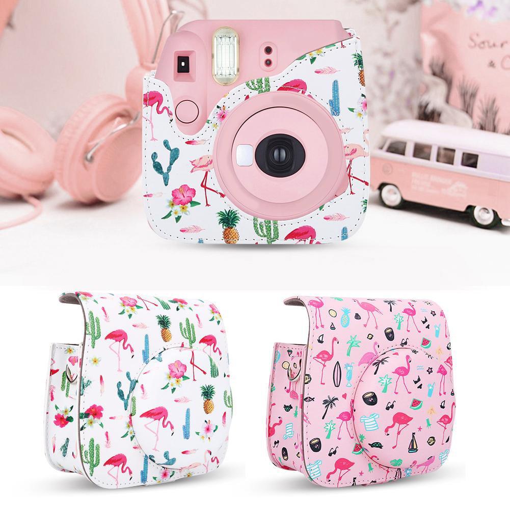 Protective Camera Case Bag with Shoulder Strap for Fuji Fujifilm Instax Mini 8/8+/9