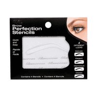 Ardell Brow Perfection Stencils, 4 Pcs