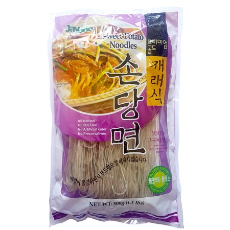 Jayone Sweet Potato Noodles Paleo All Natural Gluten Free 1.1 lbs. (Pack of 2)