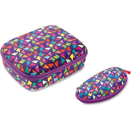 - ZIPIT, ZITZPPLBPTSP, Colorz Lunch Box Set, 1 Set, Purple