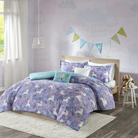 Home Essence Kids Laila Cotton Printed Duvet Cover Set