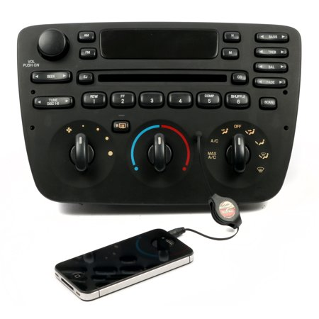 Ford Taurus 2000-2004 AM FM CD Radio with Aux Input for iPhone Satellite & More - Refurbished ()