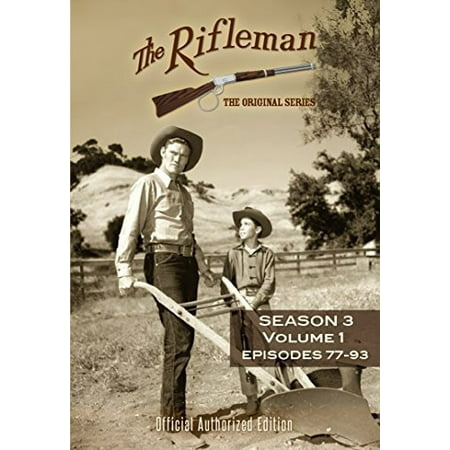 The Rifleman: Season 3 Volume 1 (Episodes 77 - 93) (DVD) - Out Of The Box Halloween Episode