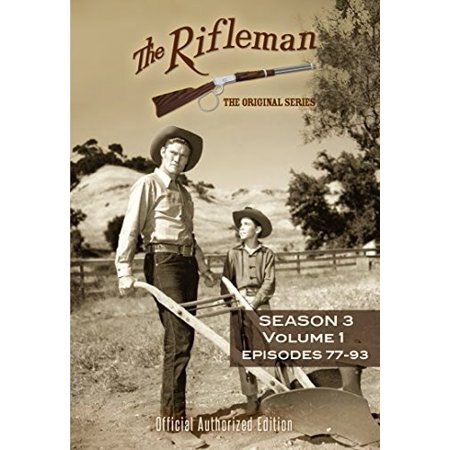 The Rifleman: Season 3 Volume 1 (Episodes 77 - 93) (DVD) - The Office Halloween Full Episode