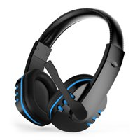 Gaming Headset with Bass Surround Sound, EEEkit Gaming Chat Headset with Noise Cancelling Mic & Soft Memory Earmuffs Fits for PS4, New Xbox One, Nintendo Switch, PC, PS3, Mac, Laptop