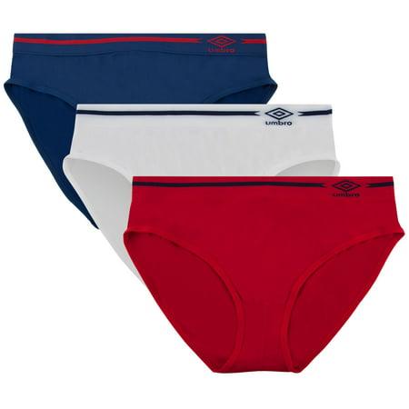 4236e7430fe9 UMBRO - Umbro Women's Seamless Bikini Panties 3 Pack - Walmart.com