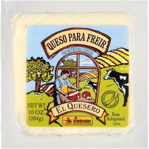 El Sembrador El Quesero Queso Para Freir Fresh Frying Cheese, 10 oz