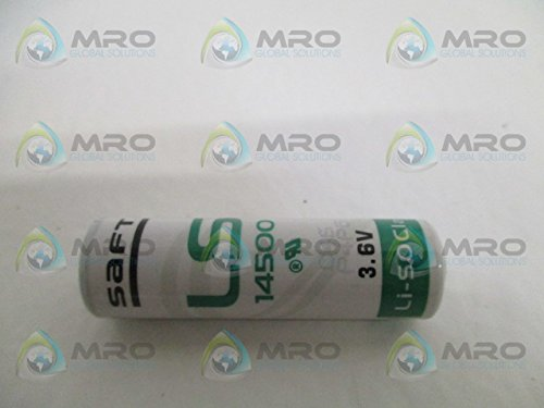 AA mit Axialdraht Lithium-Batterie SAFT LS 14500-CNA 2600 mAh 3,6 V-
