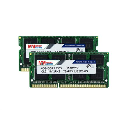 MemoryMasters Hynix IC Apple 16GB Kit (2x8GB) DDR3 1333MHz PC3-10600 SODIMM Memory Upgrade for MacBook Pro 13-inch /15-inch /17-inch Early/Late 2011, iMac 21.5-inch Mid/Late 2011(16GB Kit