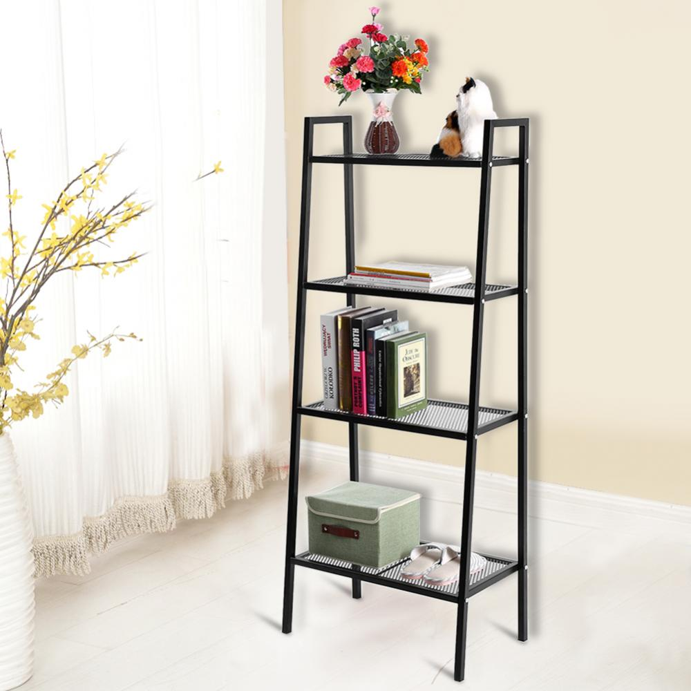 4 Tiers Shelf Unit Bookshelf Bookcase Book Storage Display Rack , Display Rack,Bookshelf
