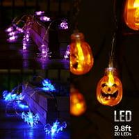 Waterproof Halloween Lights, 9.8ft 20 LEDs Decorative Lights