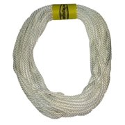 """Flagpole Rope 5/16"""" in Various Lengths, Low Stretch Polyester Material, Designed for Flagpoles (40')"""