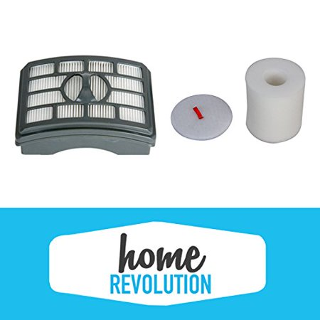 Home Revolution Shark NV500 Rotator Pro Lift-Away Filter Replacement Kit. Compare with Shark Part # XHF500 & XFF500 (Revolution Replacement)