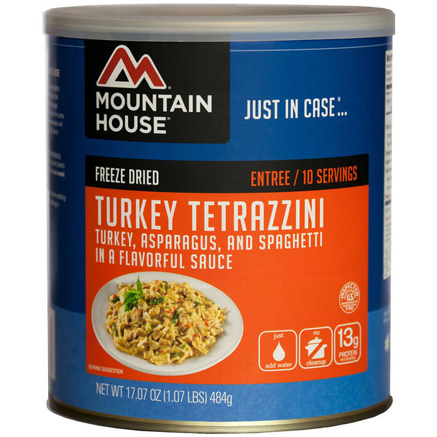 Mountain House Turkey Tetrazzini Can