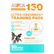 ASPCA Fresh Scent! Ultra-Absorbent Training Pads For Adult Dogs and Puppies, 50 count