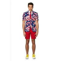 OppoSuits Men's Summer Mighty 'Murica Americana Suit