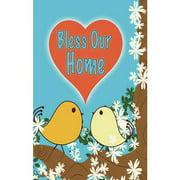 "Banner-Bless Home (12"" x 18"") (Indoor)"