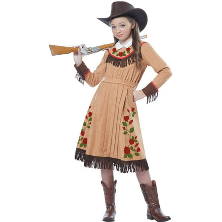 Cowgirl or Annie Oakley Girls - Cowgirl Halloween Costume Makeup