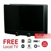 Best GE Antennas - GE Optima Black Indoor TV Antenna, 60 mile Review