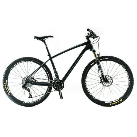 "KHS SixFifty 800 17"" Medium 650B / 27.5"" Carbon Hardtail MTB Bike SRAM 10s NEW"