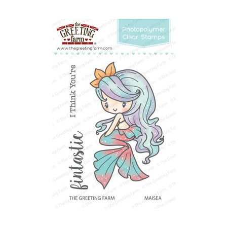 The greeting farm maisea mermaid clear stamps 3x4 photopolymer the greeting farm maisea mermaid clear stamps 3x4 photopolymer clear stamp set by the m4hsunfo