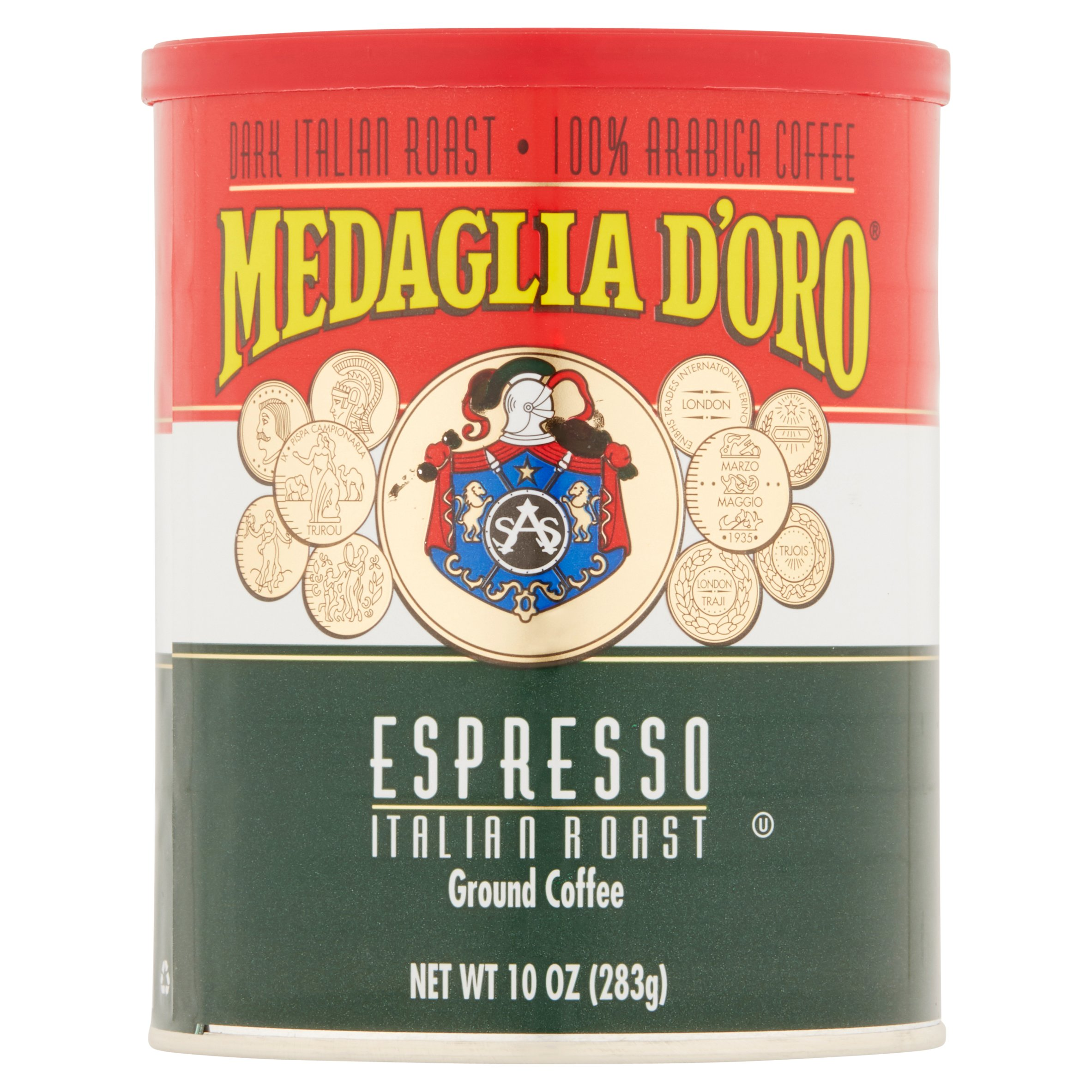 Medaglia d'Oro Caffe Negro Italian Roast Espresso, 10 oz by Rowland Coffee Roasters, Inc.