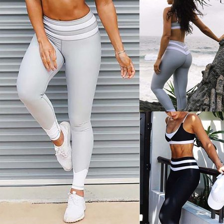 Women Sports YOGA Workout Gym Fitness Leggings Pants Jumpsuit Athletic Clothes
