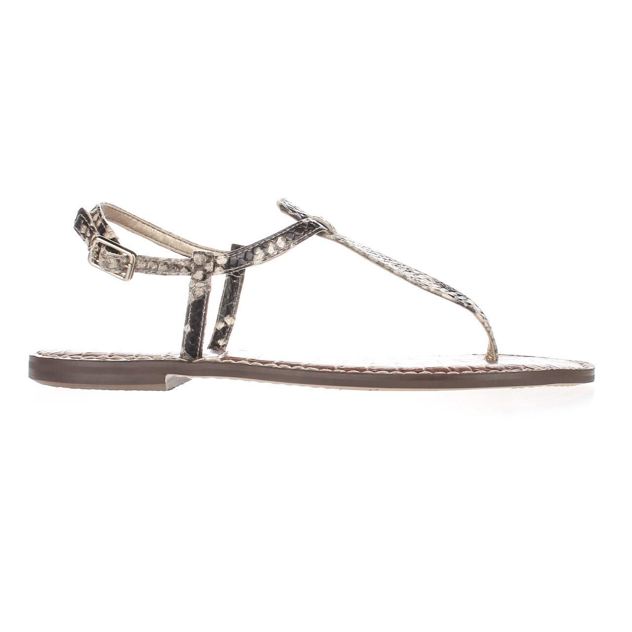 193df7866a510c Sam Edelman - Womens Sam Edelman Gigi Flat Sandals - Putty Snake -  Walmart.com